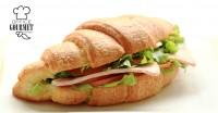 The Louvre | Croissant Sandwiches