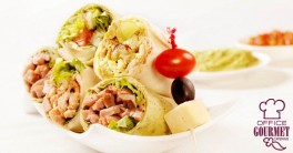 Working Luncheon Sampler - International Wraps