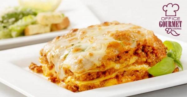 Classic Vegetarian Lasagna - Office Gourmet Catering